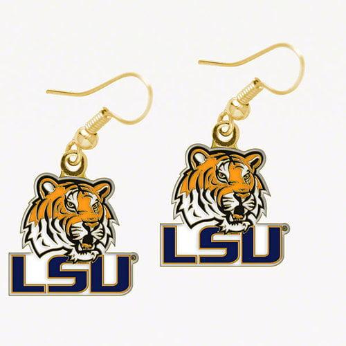 "LSU Tigers Official NCAA 3/4"" Earrings"