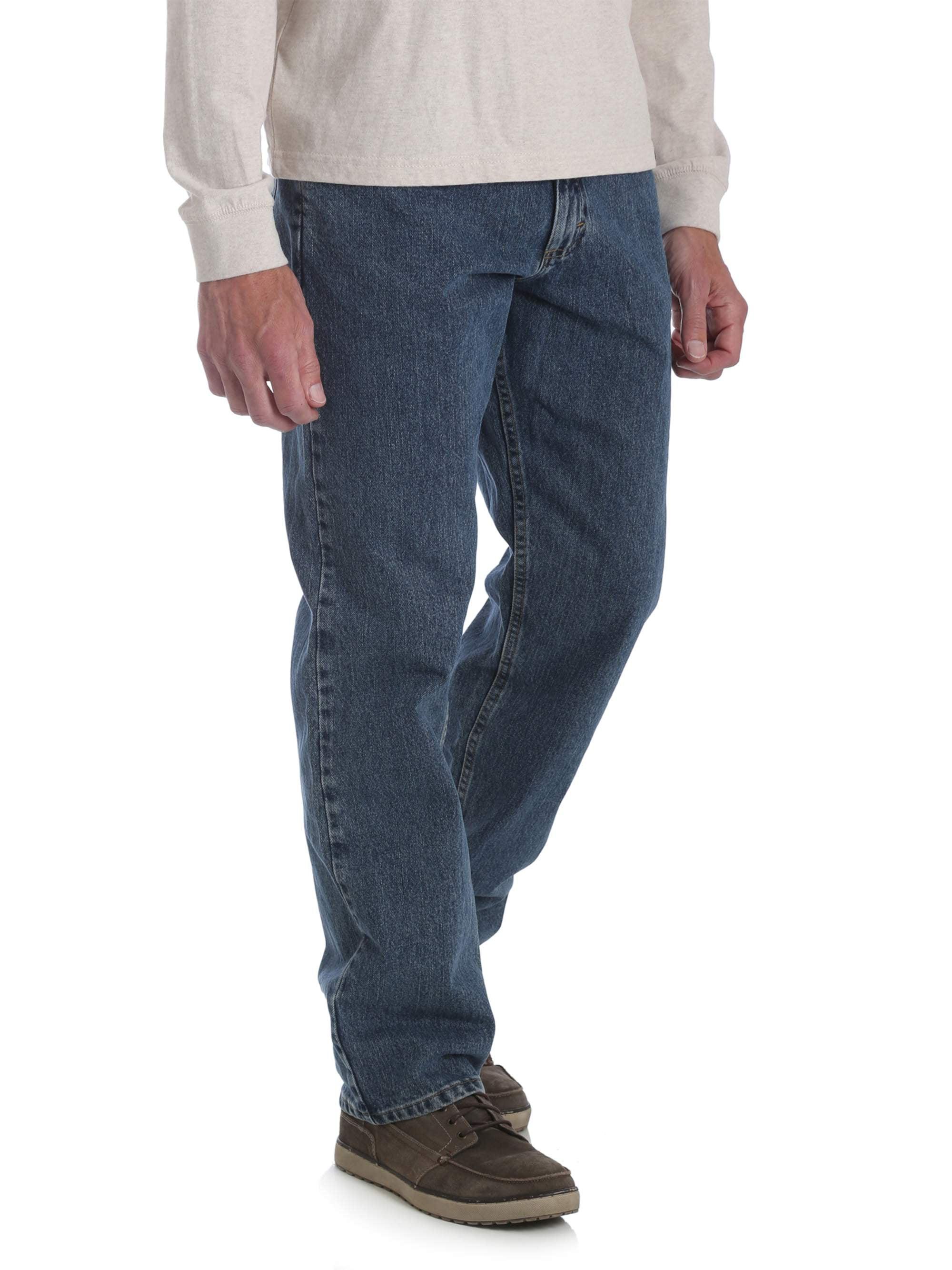3eda37c46 Wrangler - Wrangler Men's Relaxed Fit Jeans - Walmart.com