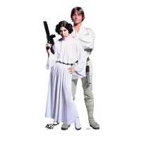 Advanced Graphics Star Wars 40th Luke  and Leia  Standup
