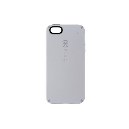 hot sales 79b5c 8130a Speck CandyShell Hybrid Case for Apple iPhone 5/5s/SE - White / Grey
