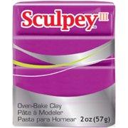 Sculpey III Polymer Clay 2oz-Fuchsia Pearl