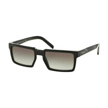 27adbaf76a Prada - PRADA Sunglasses PR 03SSF 1AB0A7 Black 54MM - Walmart.com