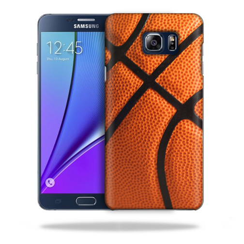 MightySkins Snap-On Protective Hard Case Cover for Samsung Note 5 Basketball