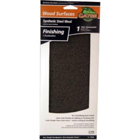 Ali Industries 7319 4.5 x 11 in. Wood Finishing Pad, Gray