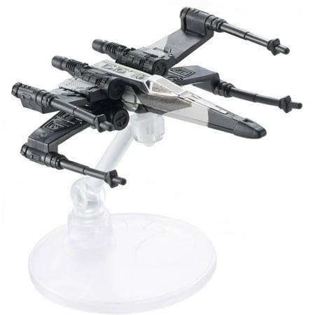 - Hot Wheels Star Wars Rogue One Starship, X-Wing (Black & White Deco)