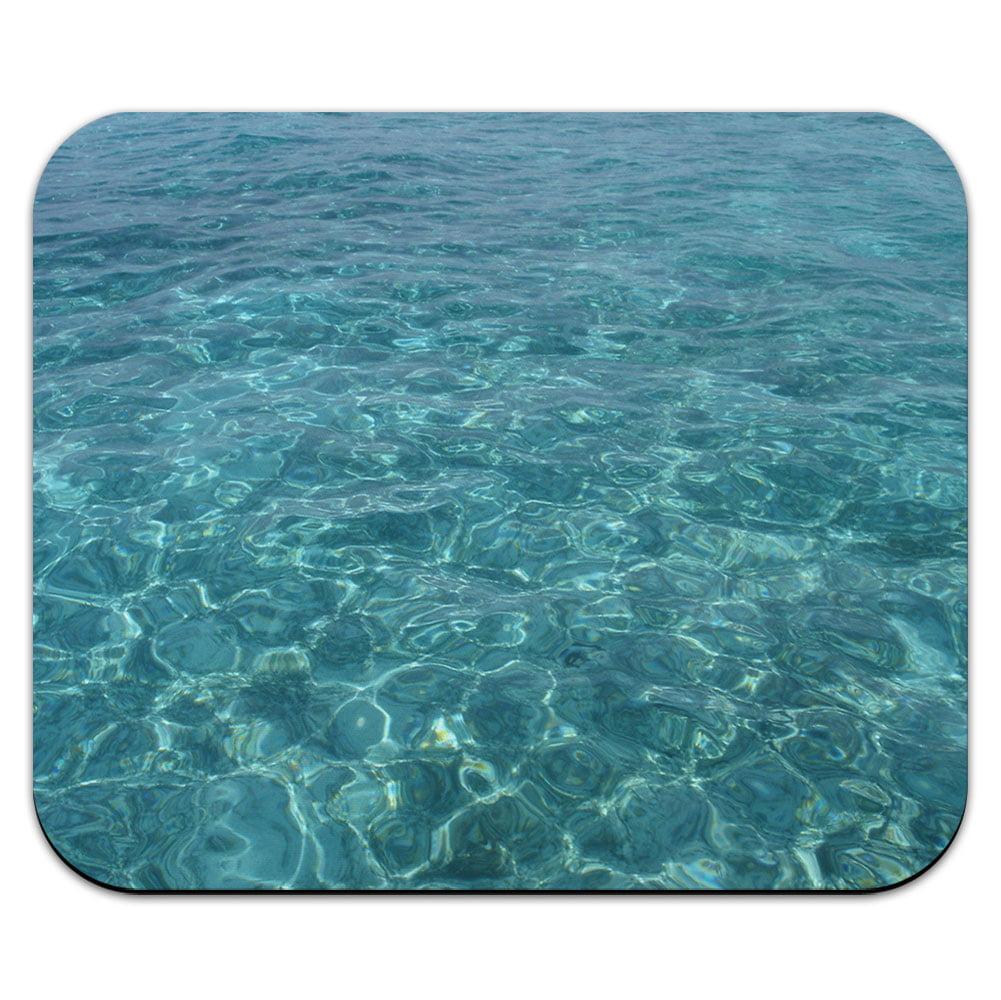 Water - Tropical Beach Ocean Waves Mouse Pad