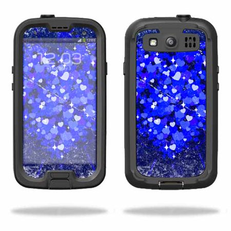 pretty nice 077ce b1294 Mightyskins Protective Vinyl Skin Decal Cover for LifeProof Samsung Galaxy  S III S3 Case fre wrap sticker skins Hearts Explosion