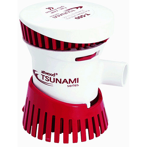 Tsunami 500 GPH Cartridge Bilge Pump, 12VDC by ATTWOOD MARINE