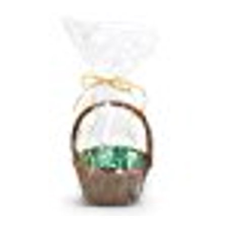 A1BakerySupplies Clear Cello Cellophane Bags Gift Basket Package Flat Gift Bags (12 In X 24 In)- 10 Pack