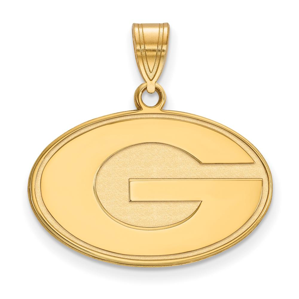 Georgia Medium (5/8 Inch) Pendant (Gold Plated)