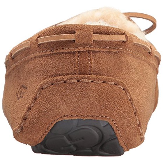 e83496a0b7f UGG Men's 'Olsen' Moccasin Slipper, Chestnut, 18 M