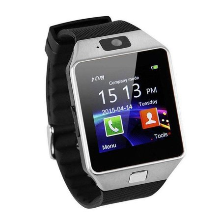 DZ09 Intelligent Wristwatch Phone Camera SIM TF GSM Multi Language - image 3 de 8