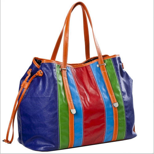 Sydney Love Head Over Heels Stripe Drawstring Tote