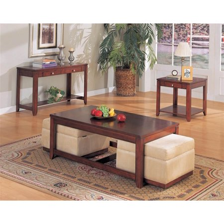Adelia 3 Pc Living Room Table Set