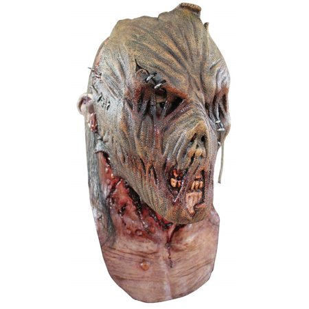 Zombie Scarecrow Adult Mask - Batman Scarecrow Mask For Sale