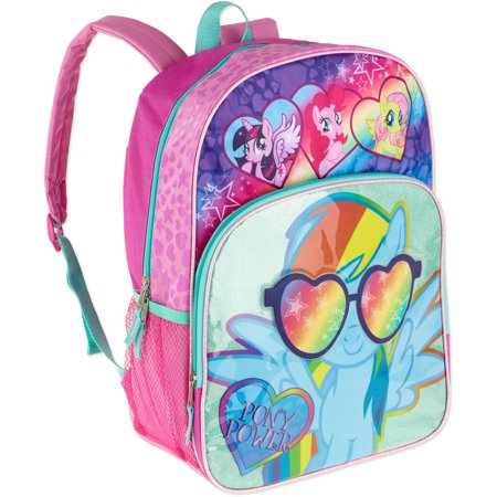 My Little Pony Rainbow Sunnies Kids Backpack - Walmart.com