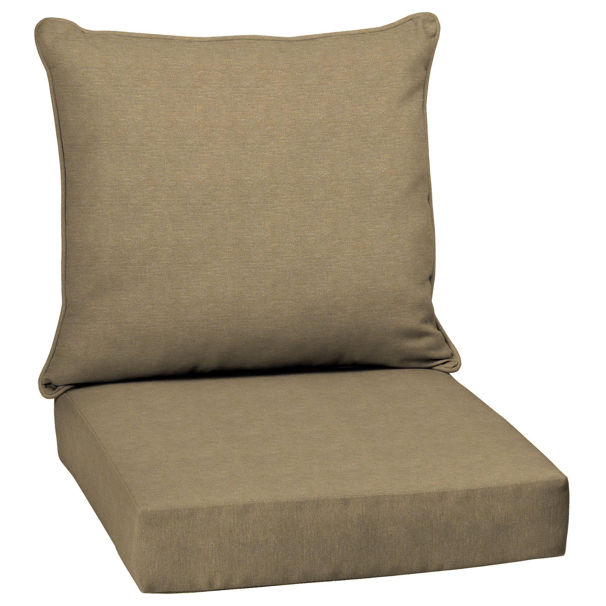 Arden Selections Denim Alair Olefin 46.5 x 24 in. Outdoor Deep Seat Cushion Set
