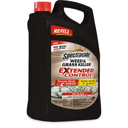 - Spectracide Weed & Grass Killer With Extended Control, AccuShot Refill, 1.33-gallon