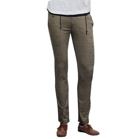 Mens Drawstring Khaki Pants 64
