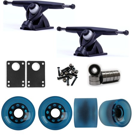 Randal 180 Black Longboard Trucks Wheels Package 70mm Sliding Wheels