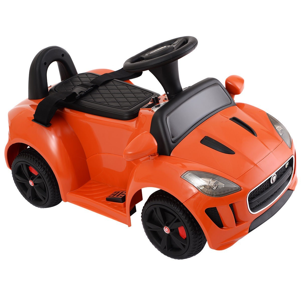 JAGUAR F-TYPE 6V Electric Kids Ride On Car Licensed MP3 Battery Power Orange