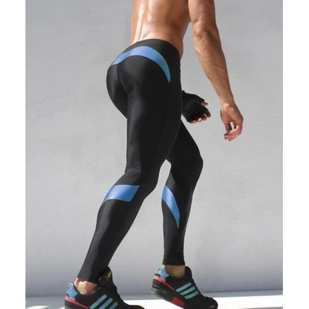 de8d069833e89 Compression Pants for Men Mens Tights Compression Leggings Basketball,  Cycling, Jogging, Sports & Gym Tights FREE Eyeglass Pouch by Juniper's  Secret.