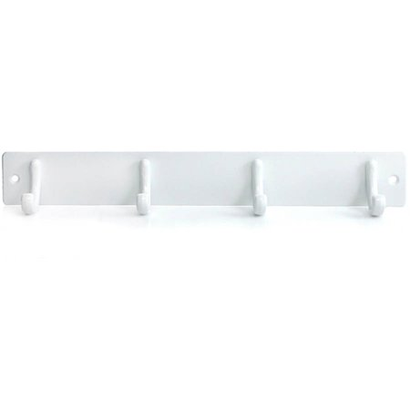 - Molla Home Wall Mounted Coat Rack, Pearl White