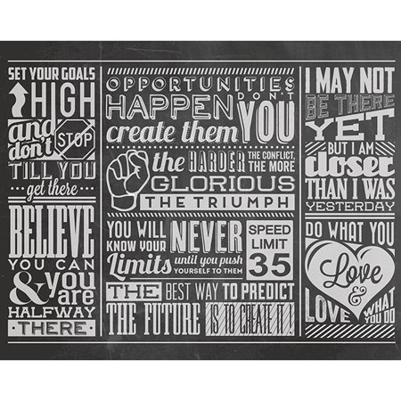- ohpopsi Chalk Quotes Wall Mural