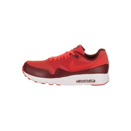 Nike Men's Air Max 1 Ultra 2.0 Essential Track Red Team Ankle High Running Shoe 9.5M
