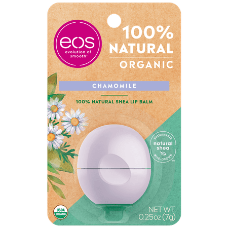 eos 100% Natural & Organic Lip Balm Sphere - Chamomile | 0.25 oz
