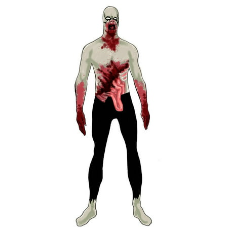 Adult Second Skin Zombie Costume Rubies 880727 for $<!---->