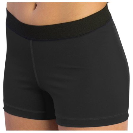 Pizzazz 3450 -BLK -AS 3450 Adult Pro Comfort Short, Black - Small - image 1 of 1