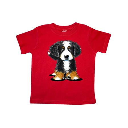 Bernese Mountain Dog Toddler T-Shirt - KiniArt