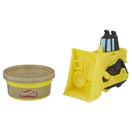 - Play-Doh Wheels Mini Bulldozer with Play-Doh Stone Colored Compound