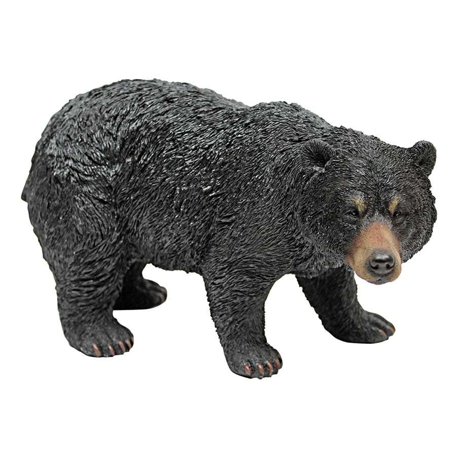 Black Bear Statue: Walking