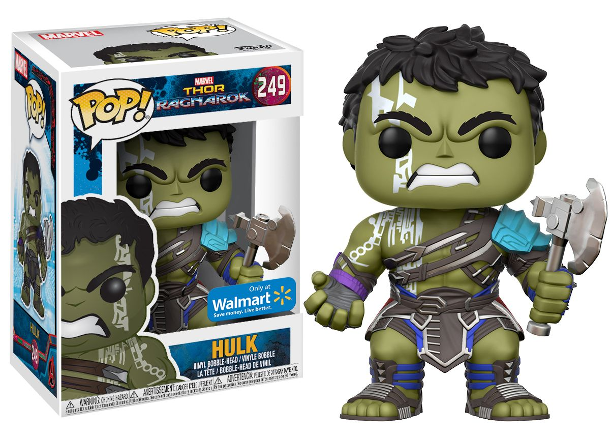 Funko POP Marvel: Thor - Hulk- Walmart Exclusive