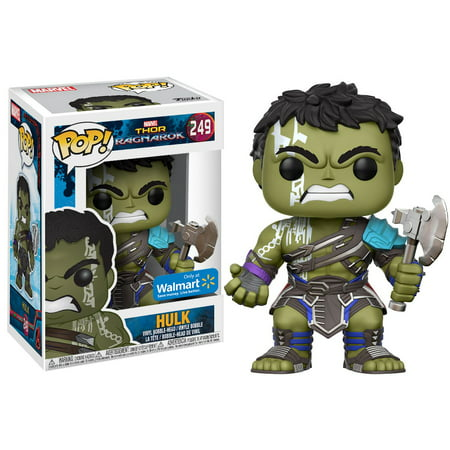 Funko POP Marvel: Thor - Hulk- Walmart Exclusive