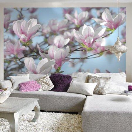 Brewster home fashions komar magnolia wall mural for Alabama wall mural
