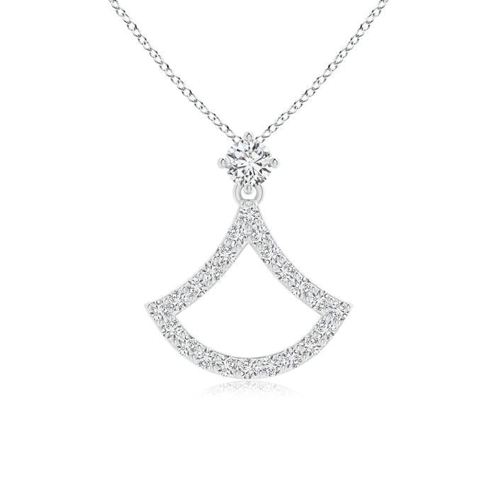 Diamond Rings For Sale Walmart: Prong-Set Diamond Axe Pendant In