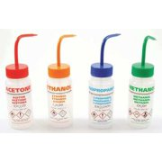 DYNALON Wash Bottle,Vtd,8oz,Write-On,Asstd,PK5 506485-0005