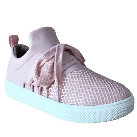 Girls Wonder Nation Lace-up Mesh Fashion Sneaker