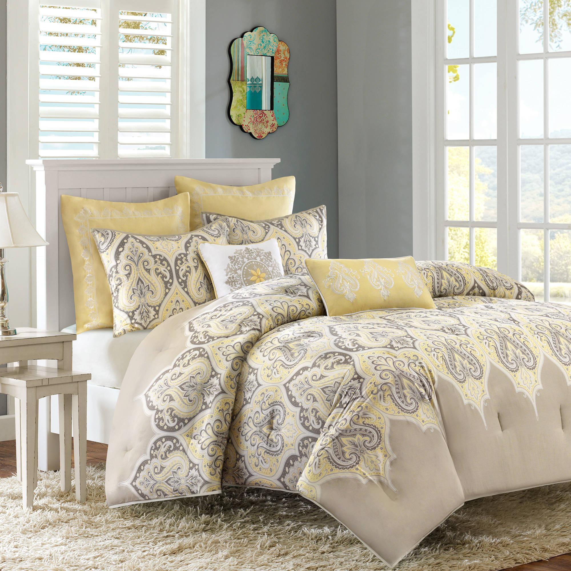 Home Essence Naomi Cotton Sateen Bedding Comforter Set