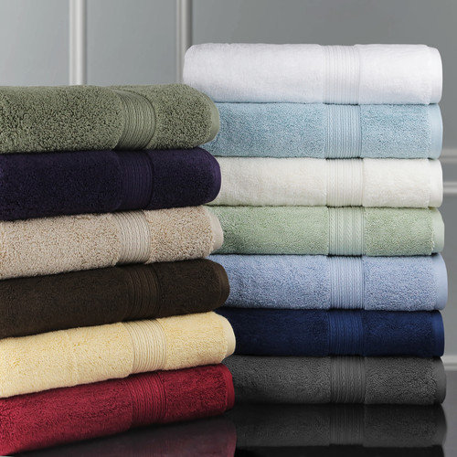 Luxor Linens Bliss Egyptian Cotton Luxury 3 Piece Towel Set