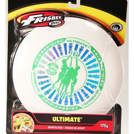 Wham-o Ultimate Frisbee 175g - White (graphic color varies) - Foam Frisbee