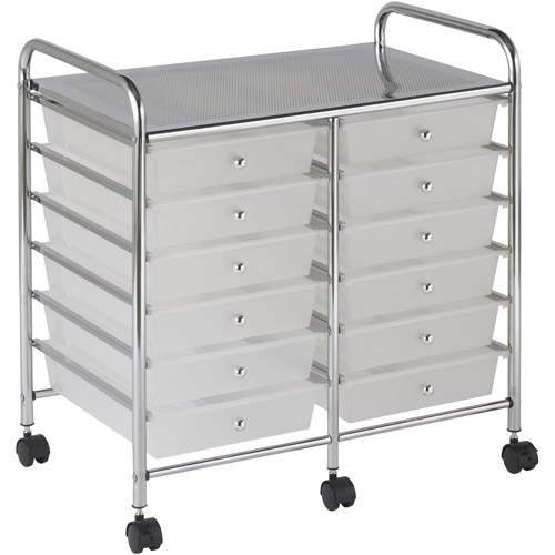 12 Drawer Mobile Organizer SMK