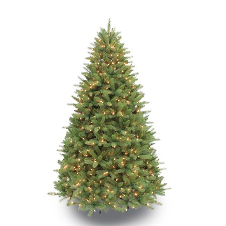 Puleo International 7.5 ft. Pre-Lit Douglas Fir Premier Artificial Christmas Tree with 800 Clear UL listed Lights