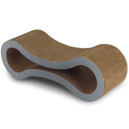 OxGord Paws & Pals Pet Cat Scratcher and Lounger – 34