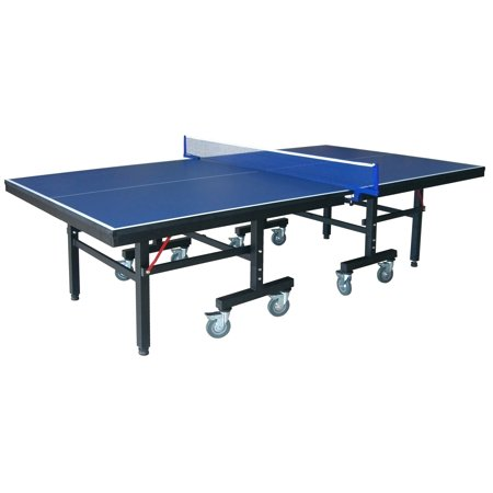 Hathaway Victory Professional 9 Foot Table Tennis Table With 25Mm Thick Surface  2 Inch Steel Supports  Free Paddles  Balls And Net