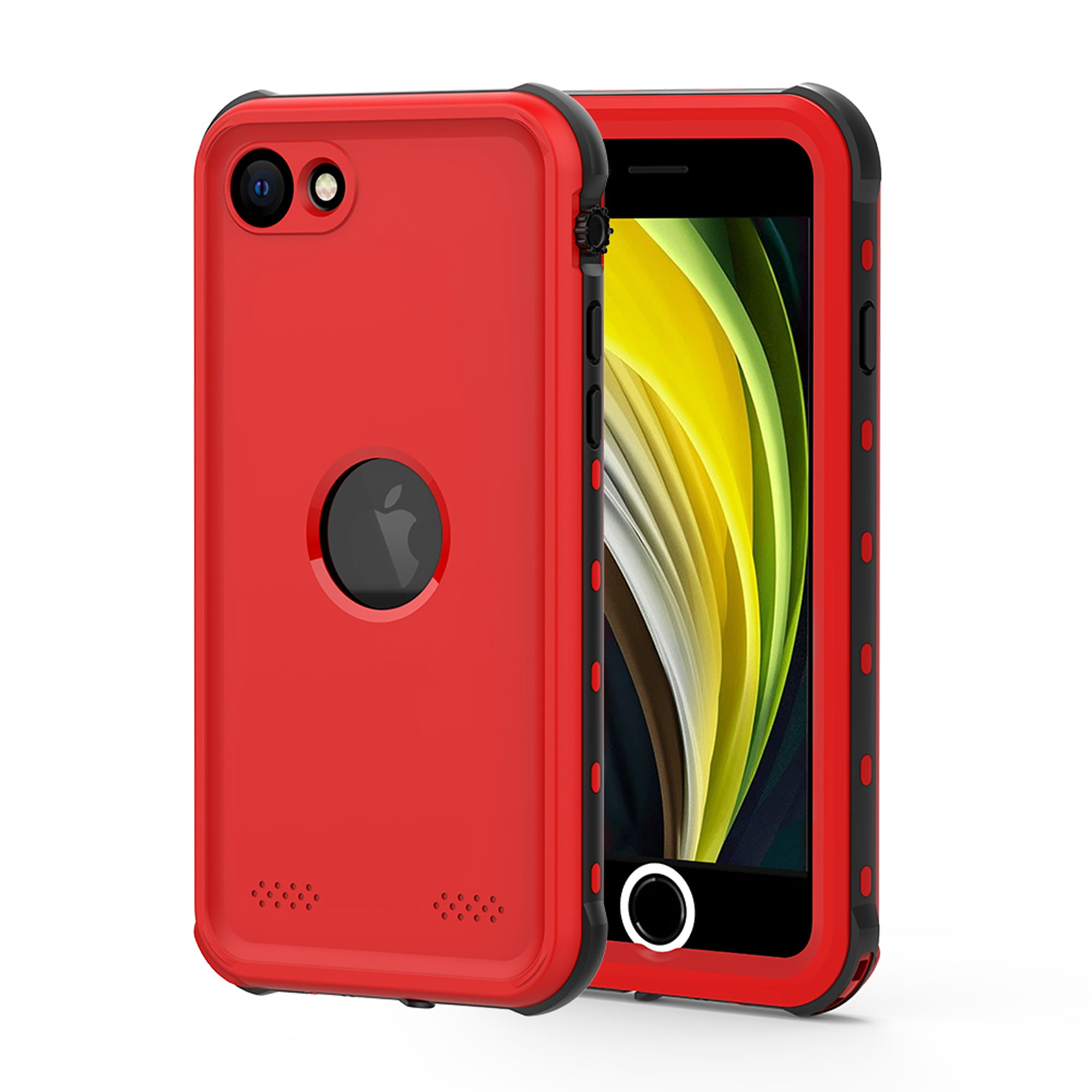iPhone SE 2020 Waterproof Case, Dteck Full-body Protection ...