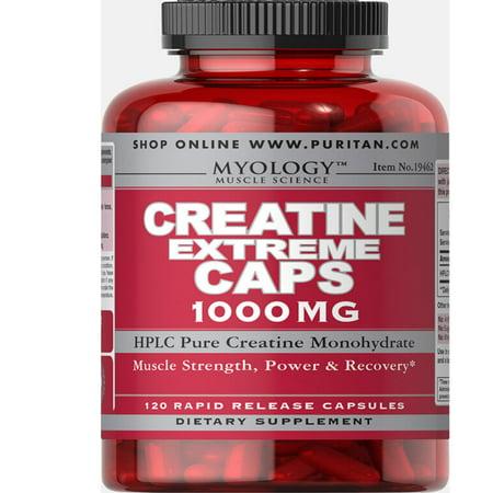 Puritan's Pride Creatine Extreme 1000 mg 120